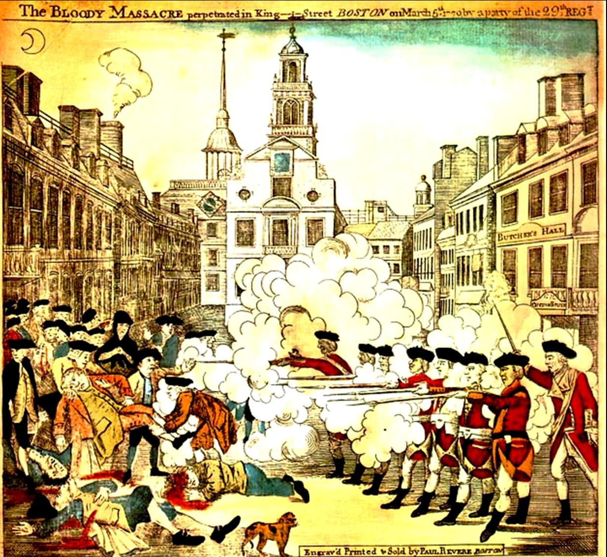 bostonmassacre Turn the other one?  Or liberty?  Or death?