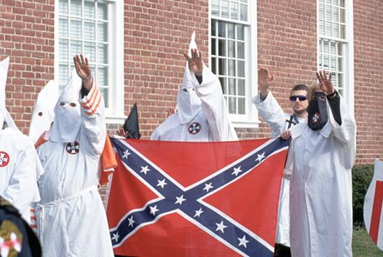 kkk confederate flag